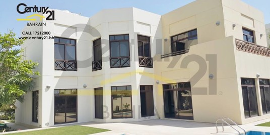 RIFFA VIEWS : SEMI FURNISHED 5 BEDROOM VILLA FOR RENT