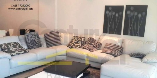AMWAJ ISLAND : FULLY FURNISHED 3 BEDROOM APARTMENT FOR RENT
