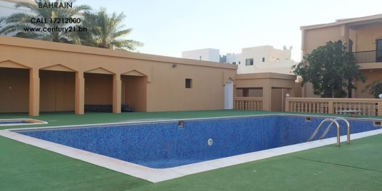 BARBAR : SEMI FURNISHED 4 BEDROOM VILLA FOR RENT