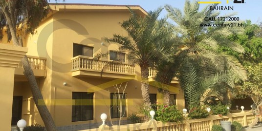 Two storey 4 bedroom semi furnished villas for rent in Janabiyah