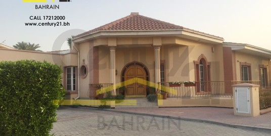 JANABIYAH : SEMI FURNISHED 3 BEDROOM VILLA FOR RENT