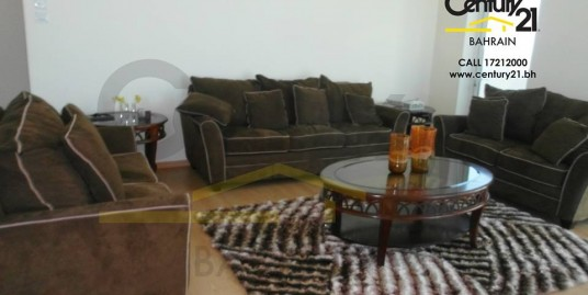 FULLY FURNISHED 2 BEDROOM APARTMENT IN SANABIS FOR BD 550 INCLUSIVE!! FR758