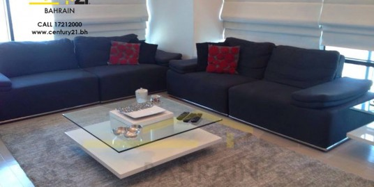 FULLY FURNISHED 3 BEDROOM APARTMENT IN SEEF FOR BD 1,100 INCLUSIVE!! FR619