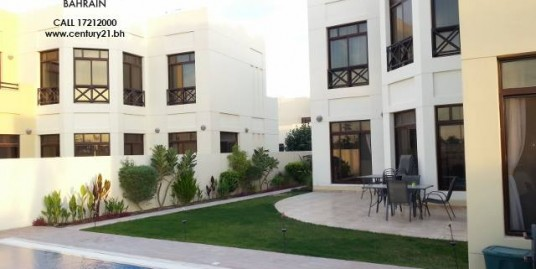 SEMI FURNISHED 5 BEDROOM VILLA WITH PRIVATE POOL FOR RENT IN RIFFA VIEWS! VR466
