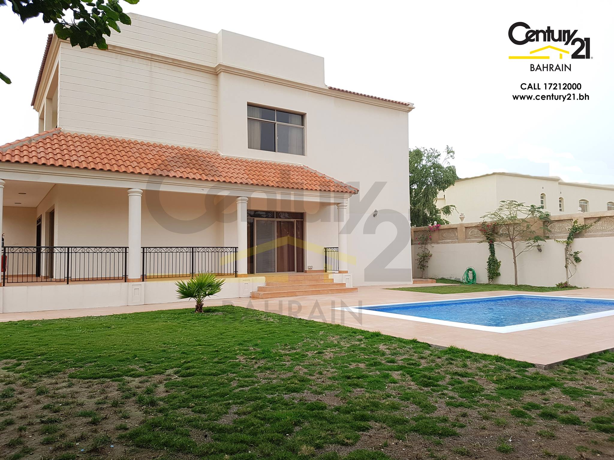 SEMI FURNISHED 4 BEDROOM COMPOUND VILLA FOR BD 1,500 INCLUSIVE. BD 1,300 EXCLUSIVE VR692