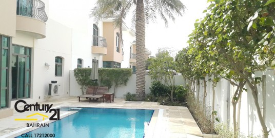 4 Bedroom Luxurious Villa On a Corner Plot In The Parks Estate Riffa Views VS460