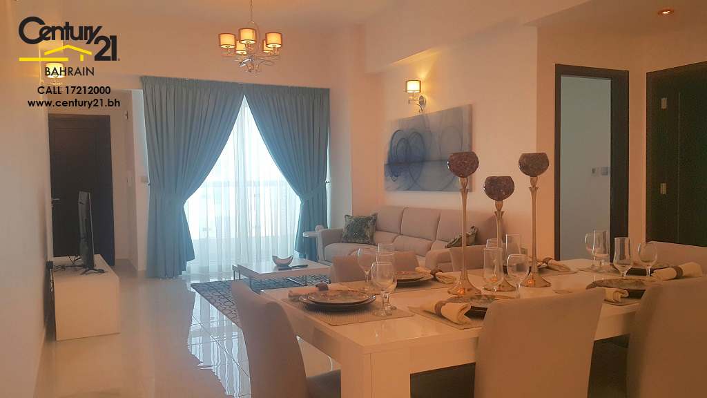 2 bedroom apartment for rent in Juffair Hieghts South Tower FR685