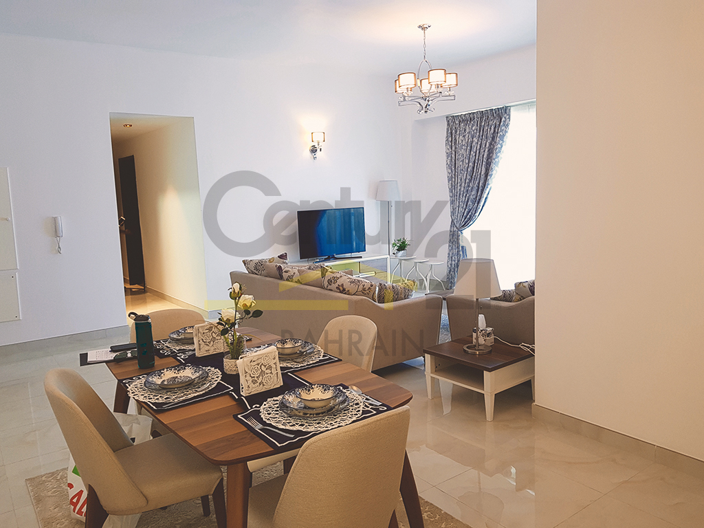 2 bedroom fully furnished apartment for rent in juffair for Furnished room