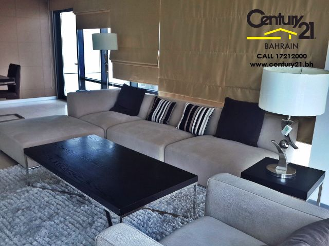 3 bedroom Fully furnished apartment in seef for rent FR724