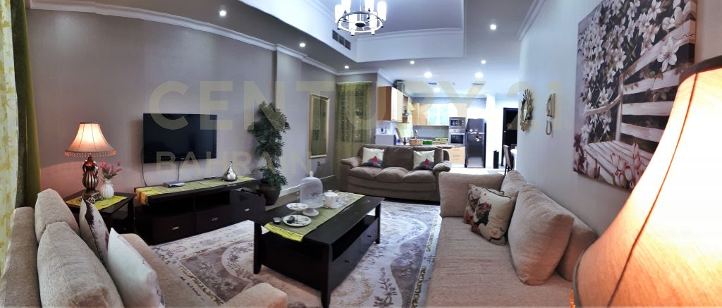 FULLY FURNISHED 2 BEDROOM APARTMENT IN BUSAITEEN (1021 KM)