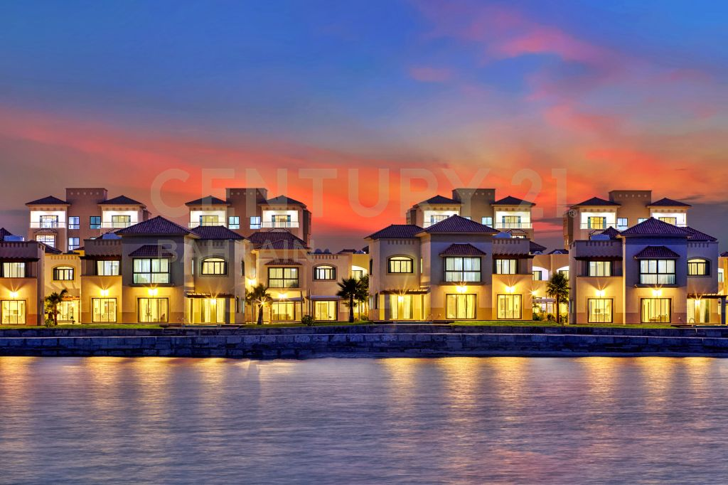 FULLY FURNISHED 3 AND 4 BEDROOM VILLAS IN AMWAJ ISLAND(1033 KM)