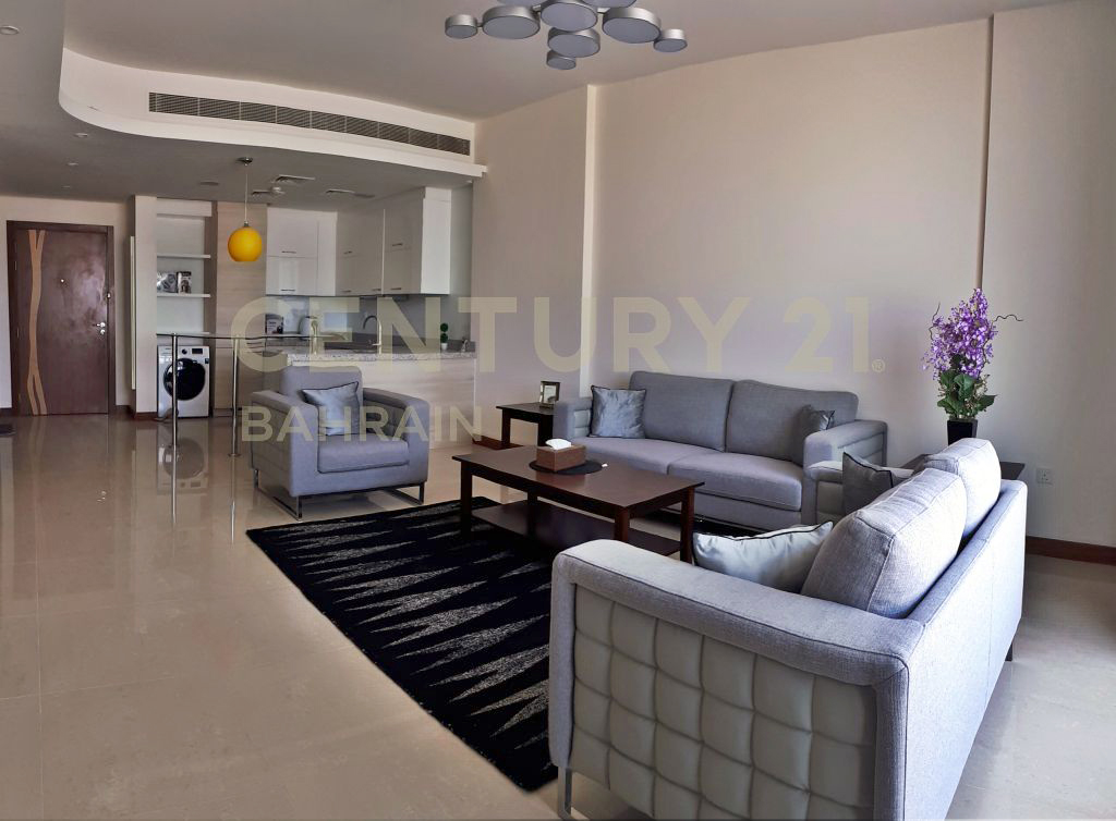 FULLY FURNISHED 1 BEDROOM APARTMENT IN DILMUNIA ISLAND (KM)