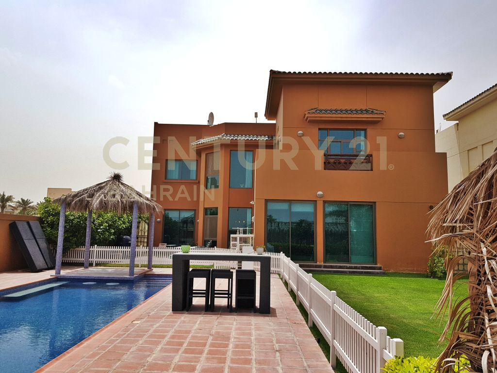 SEMI FURNISHED 5 BEDROOM VILLA IN RIFFA VIEWS FOR BD 420,000 (1068 MK)