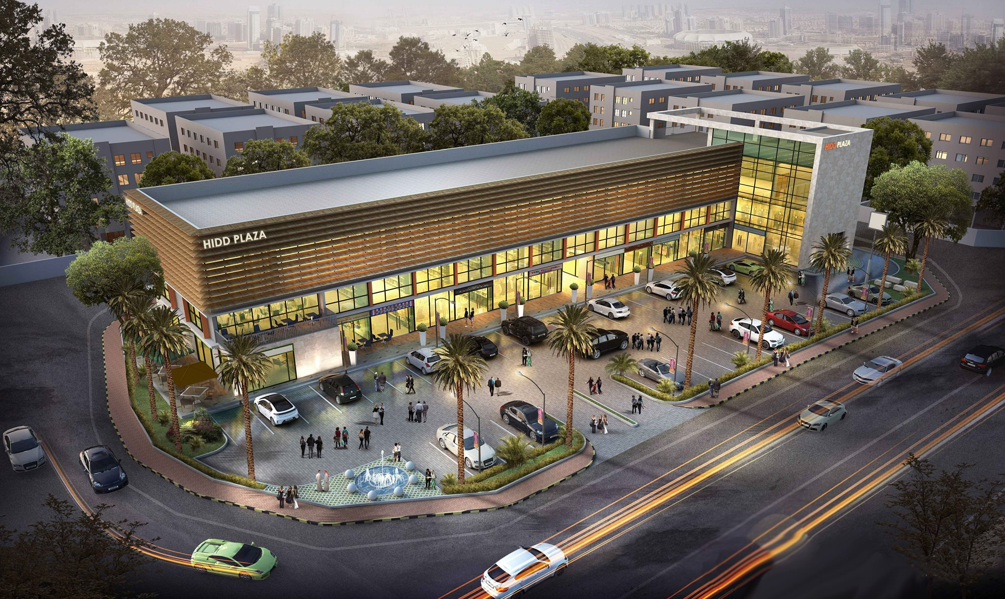COMMERCIAL SPACES AT HIDD PLAZA