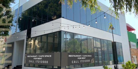 RESTAURANT/ CAFE SPACES IN THE HEART OF BLOCK 338, ADLIYA –  NOW AVAILABLE FROM BD 1,800 EXCLUSIVE!